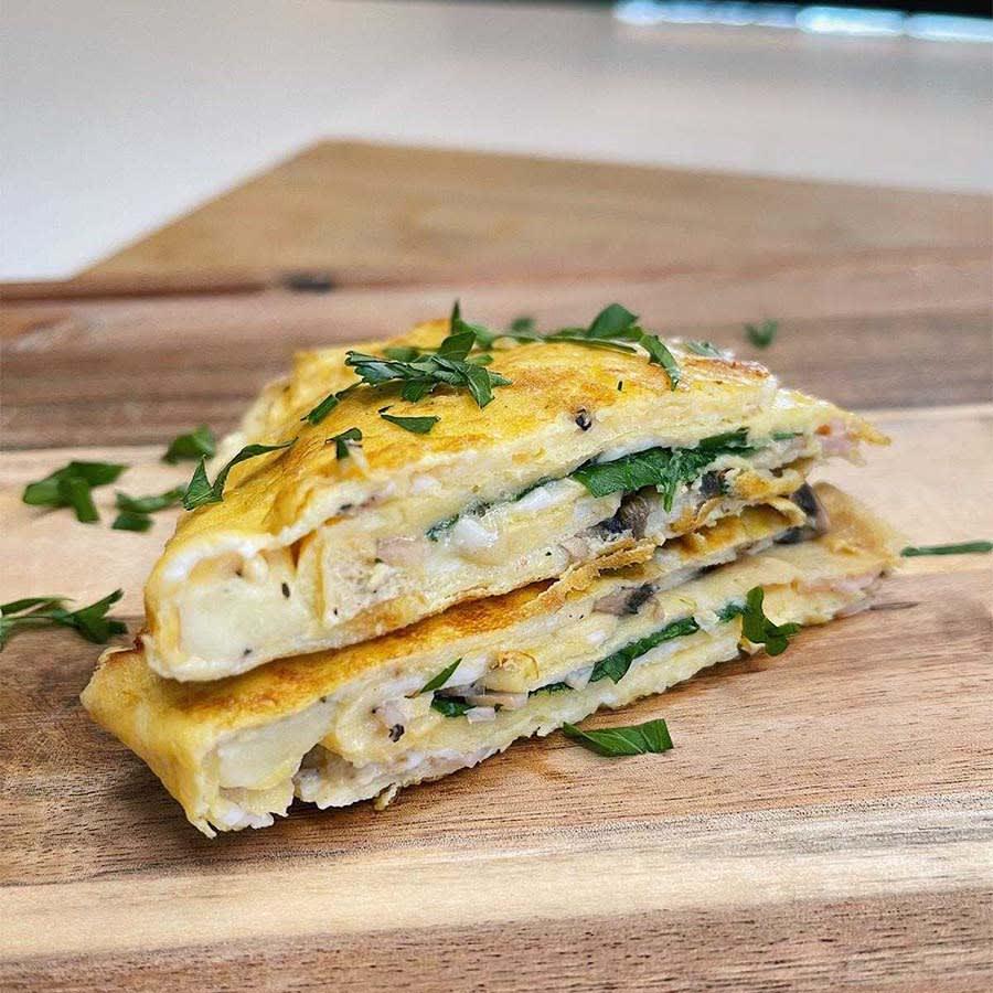 Photo of Mandi's omelette wrap by WW