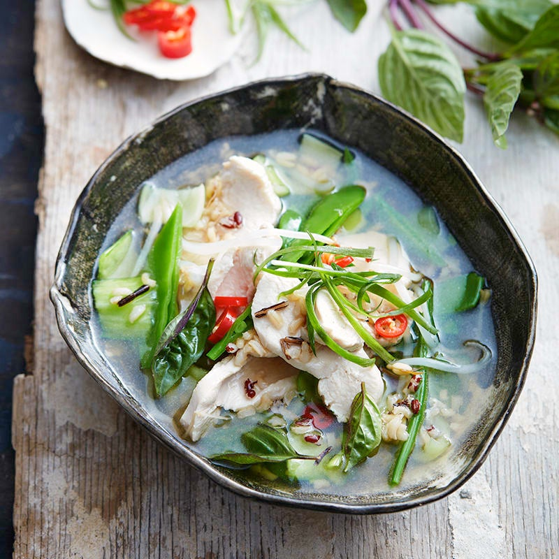 Photo of Fragrant chicken and rice soup by WW