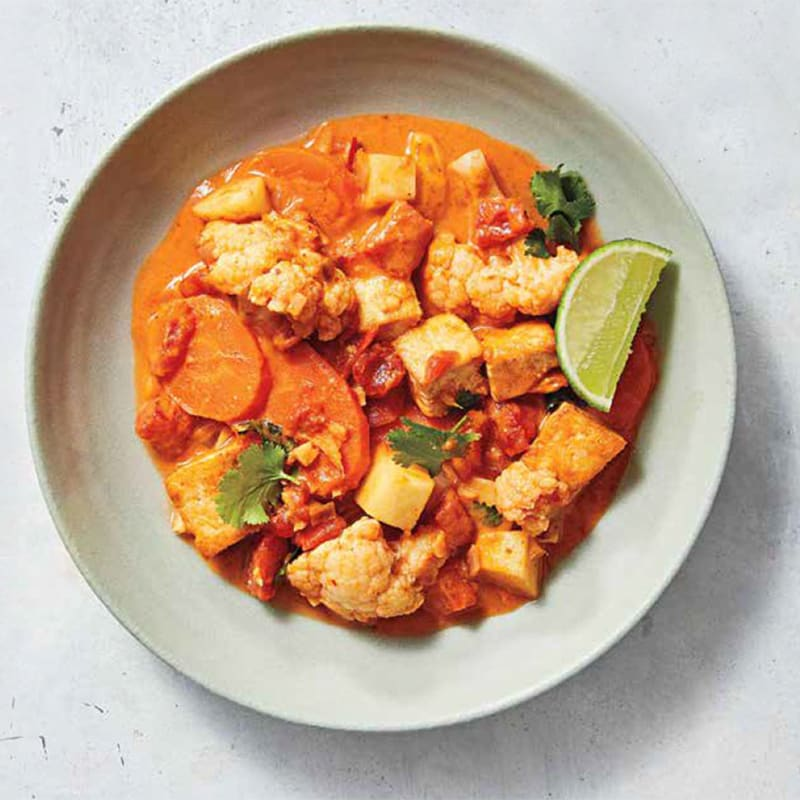 Photo of Red curry tofu and vegetable stew by WW