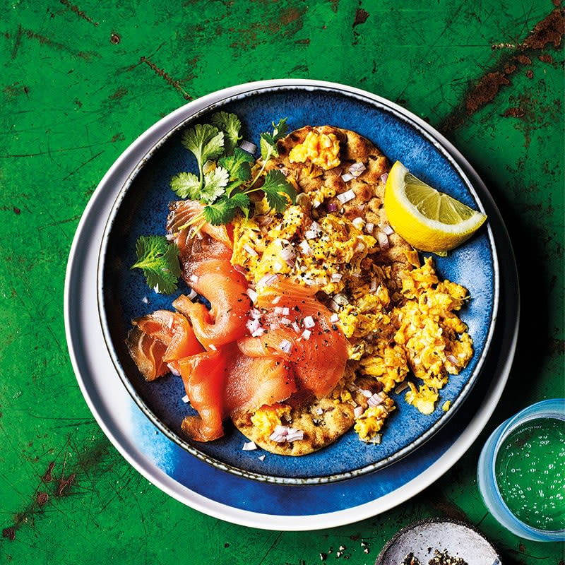 Photo of Cumin-spiced scrambled eggs with smoked salmon by WW