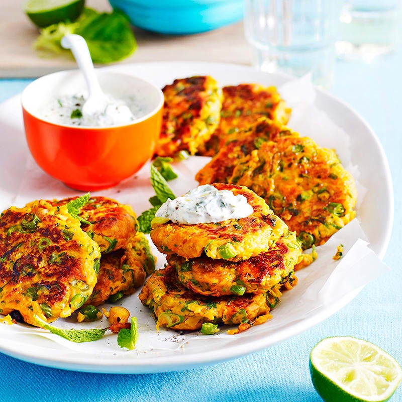 Photo of Sweet potato and chickpea patties by WW