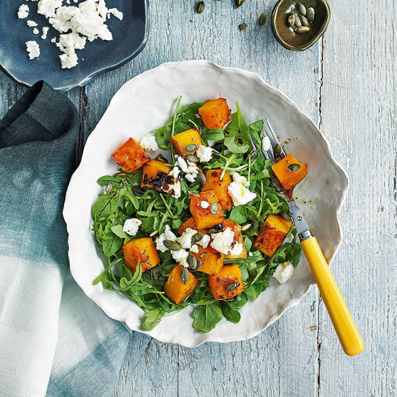Photo of Pumpkin and goat's cheese salad by WW