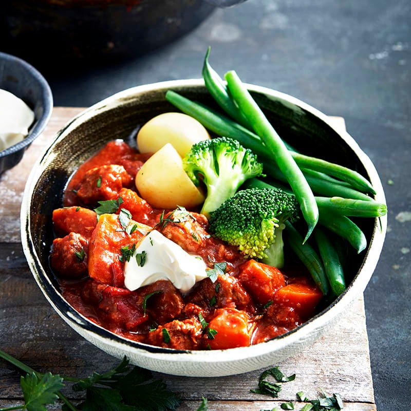 Photo of Hungarian-style veal goulash by WW