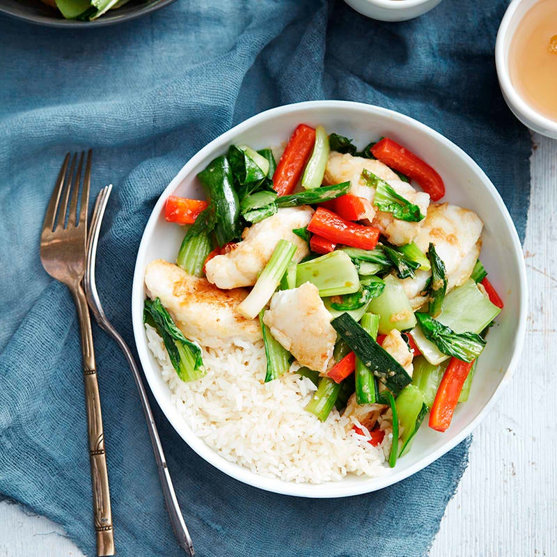 Photo of Stir-fried fish with ginger and shallots by WW