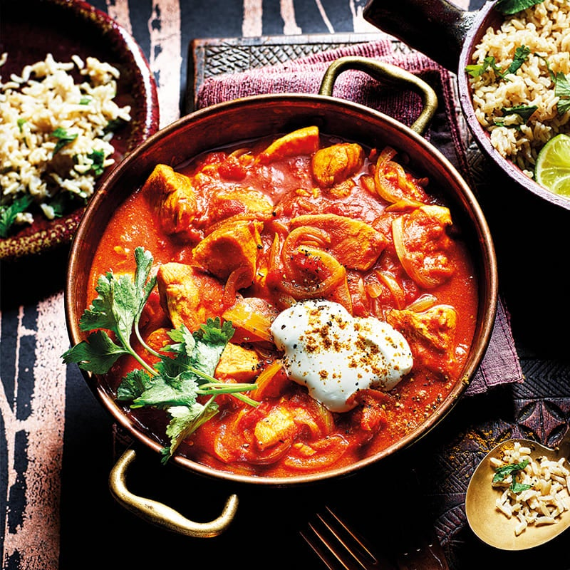 Photo of Simple chicken curry by WW