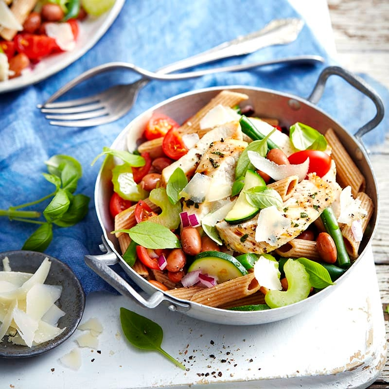 Photo of Chargrilled chicken 'minestrone' salad by WW
