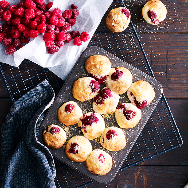Photo of Mini banana and raspberry muffins by WW