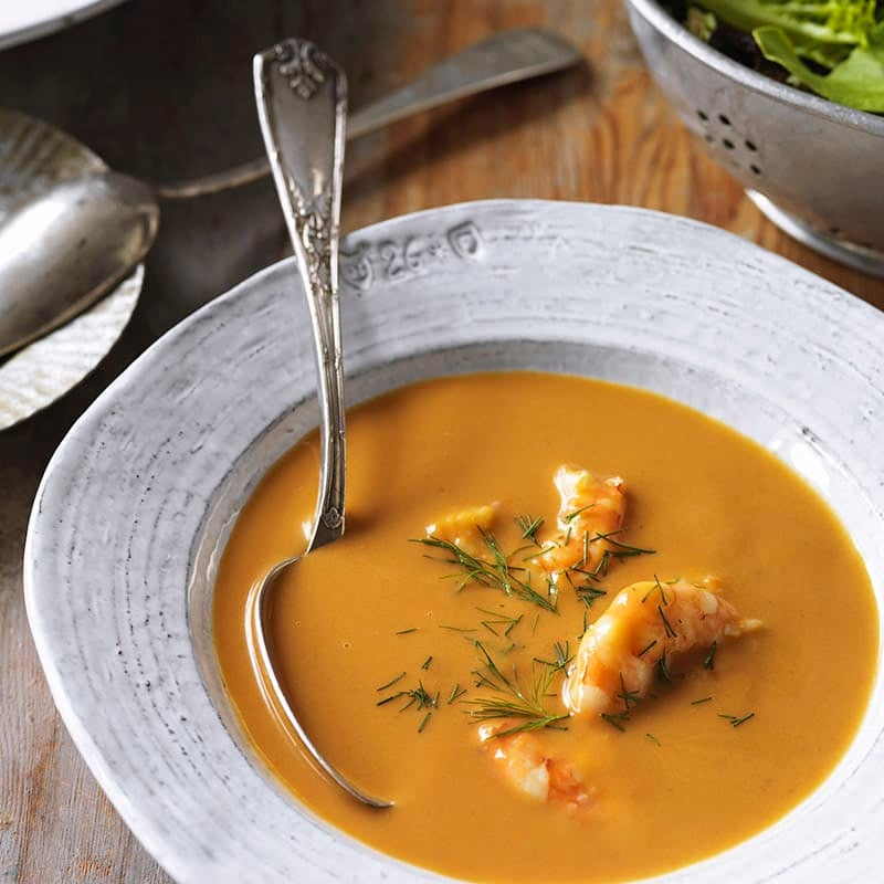 Photo of Prawn and tomato bisque by WW