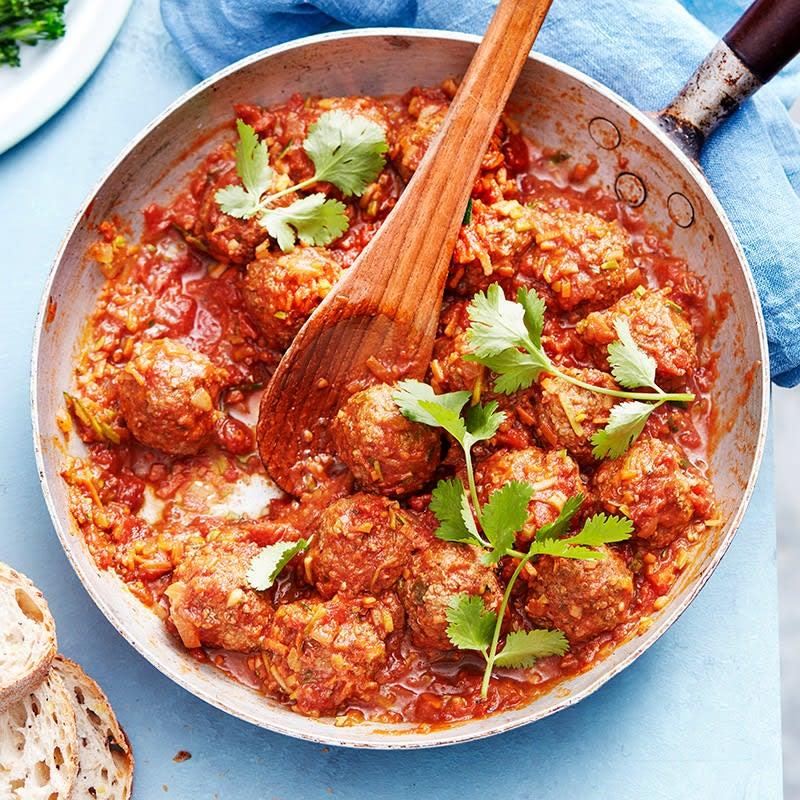 Photo of Beef quinoa meatballs by WW