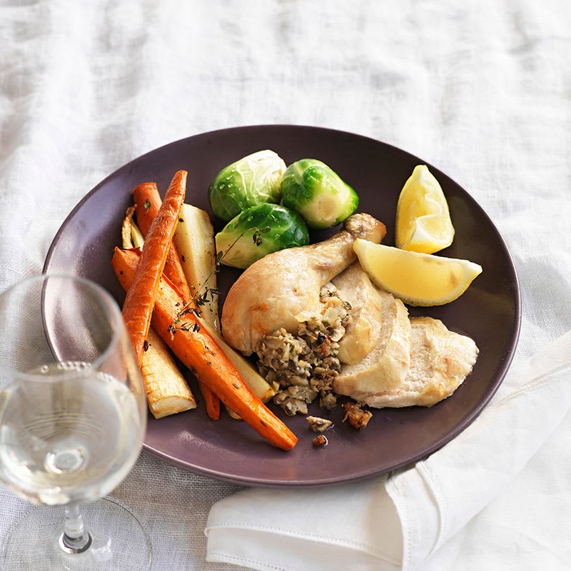 Photo of Chicken with mushroom and herb seasoning by WW