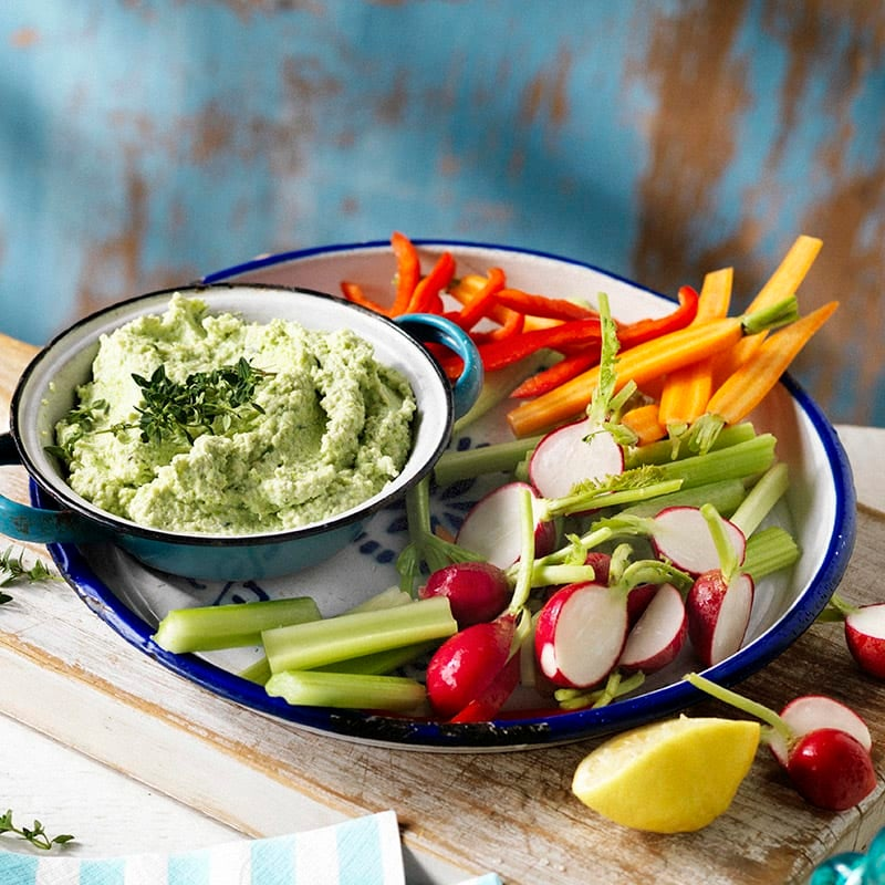 Photo of Broad bean, ricotta and thyme dip by WW