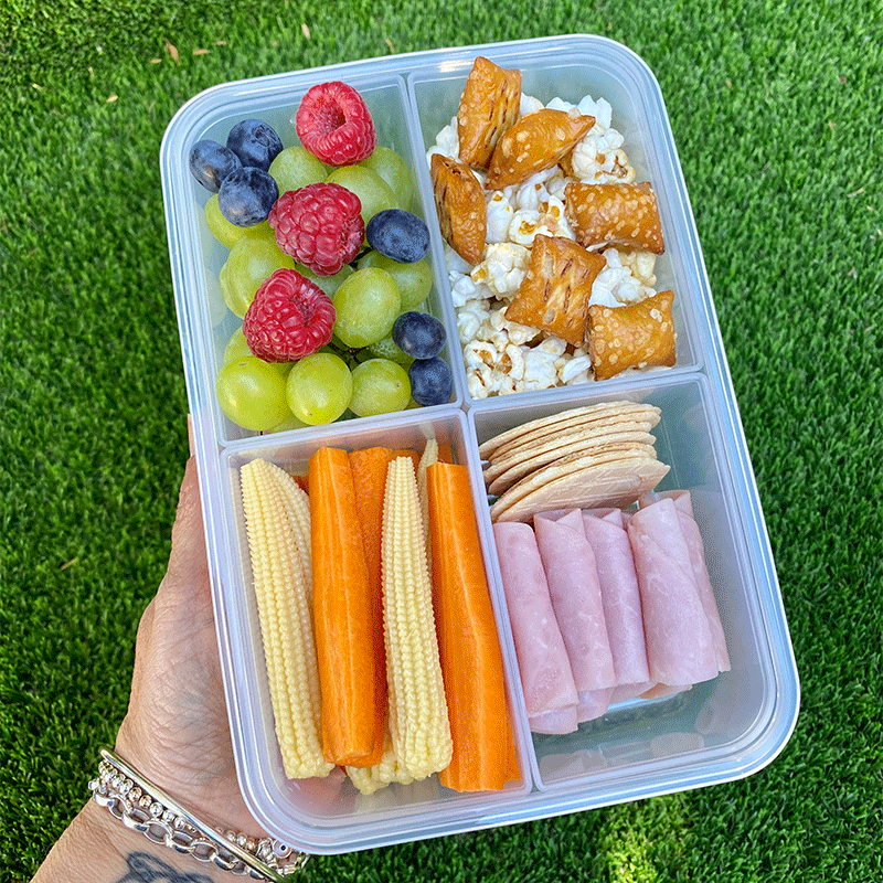 Photo of Anna's pretzel and crackers snack box by WW