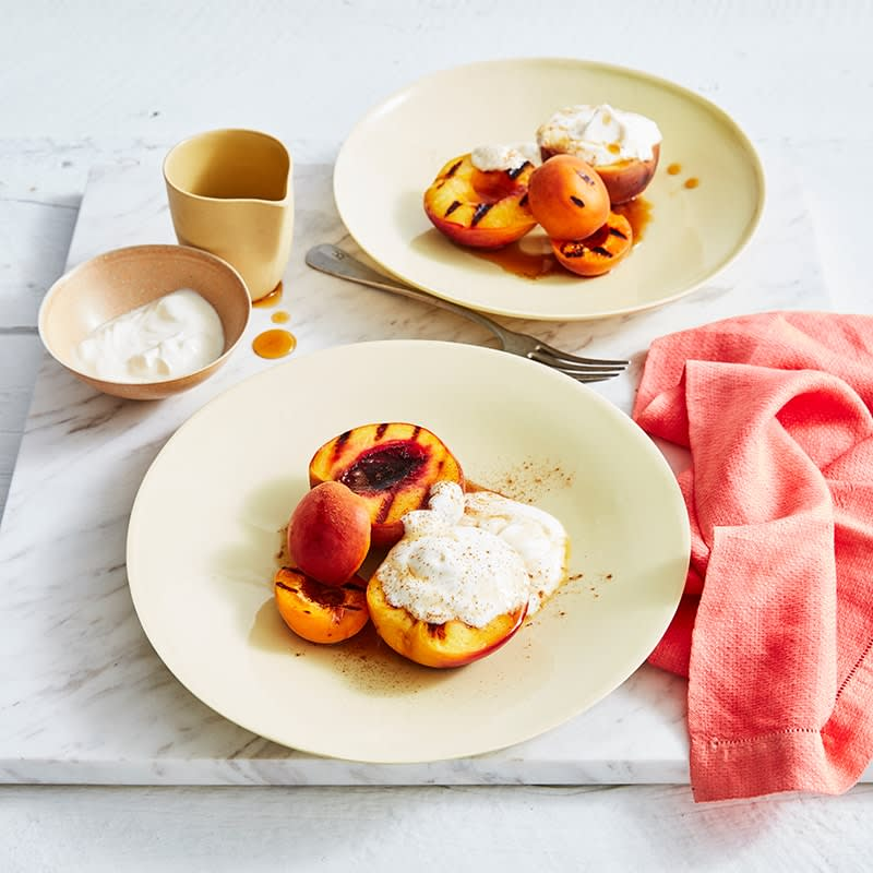 Photo of Stone fruit with cinnamon-maple syrup by WW