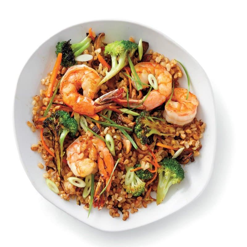 Photo of Quick prawn fried rice by WW
