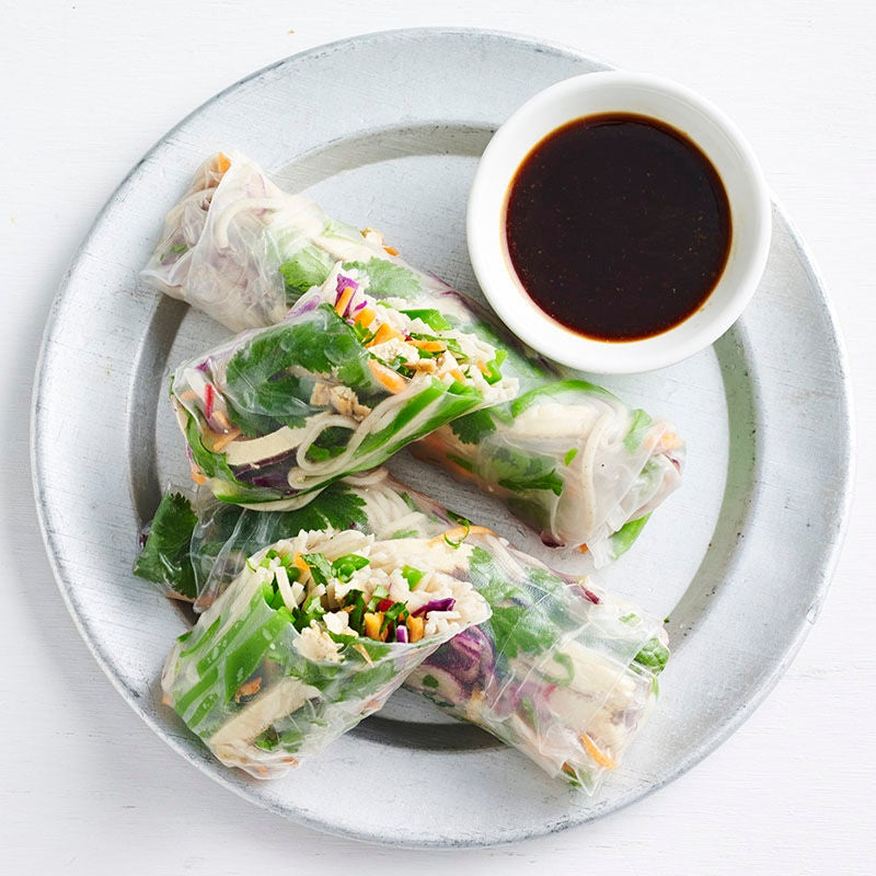 Photo of Japanese tofu rice paper rolls by WW