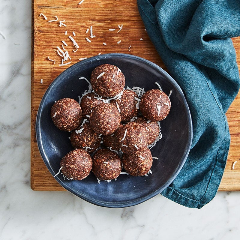 Photo of Victoria's chocolate bliss balls by WW
