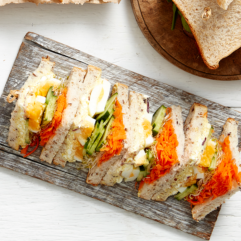 Photo of Indian egg salad sandwich by WW