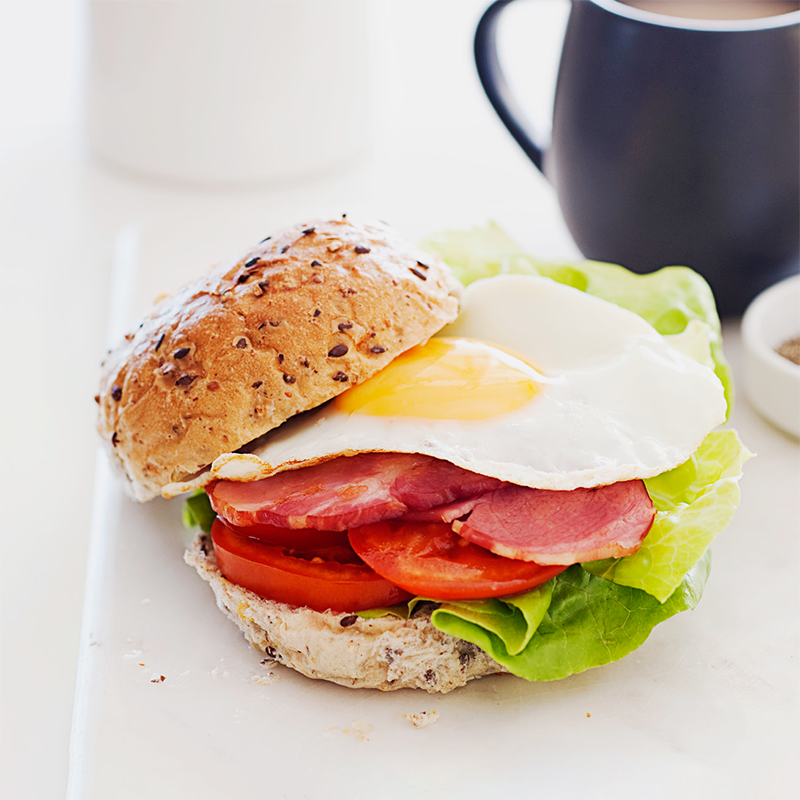 Photo of BLT with egg (BELT) by WW