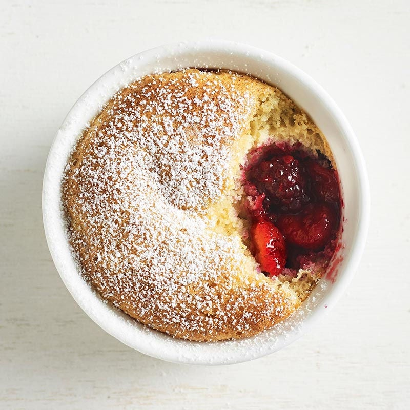 Photo of Berry sponge puddings by WW