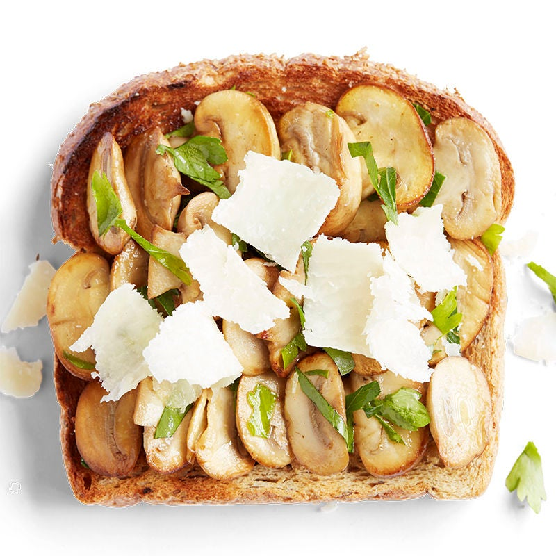 Photo of Garlic mushroom and parmesan toast topper by WW
