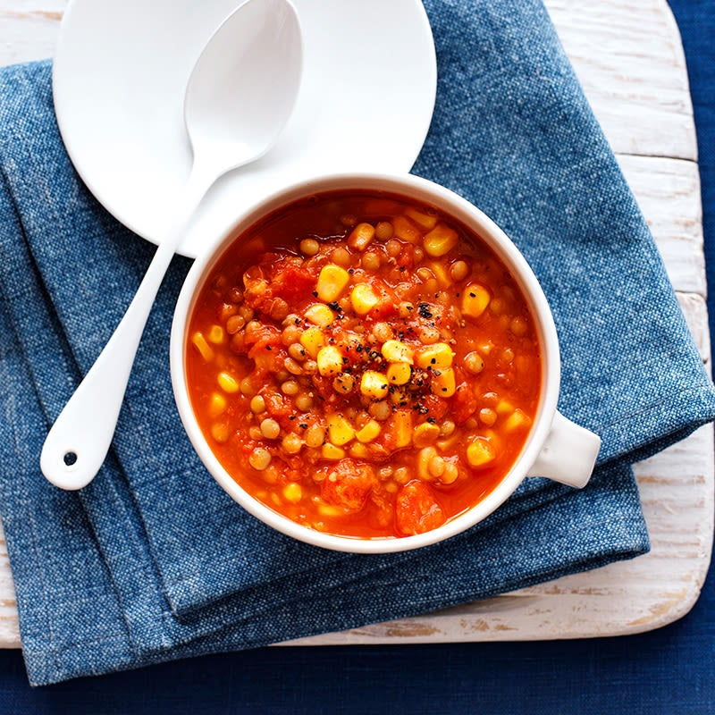 Photo of Lentil and corn soup by WW