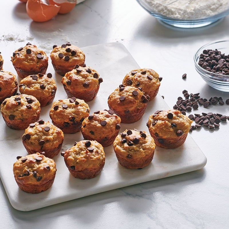 Photo of Banana choc-chip mini muffins by WW