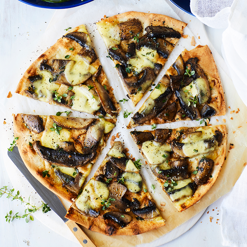Photo of Mushroom, thyme and bocconcini pizza by WW