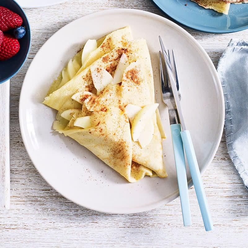 Photo of Apple cinnamon crepes by WW