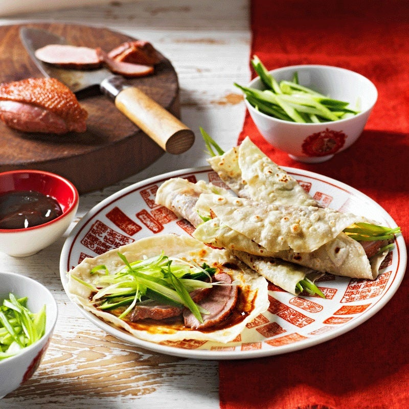 Photo of Peking duck pancakes by WW