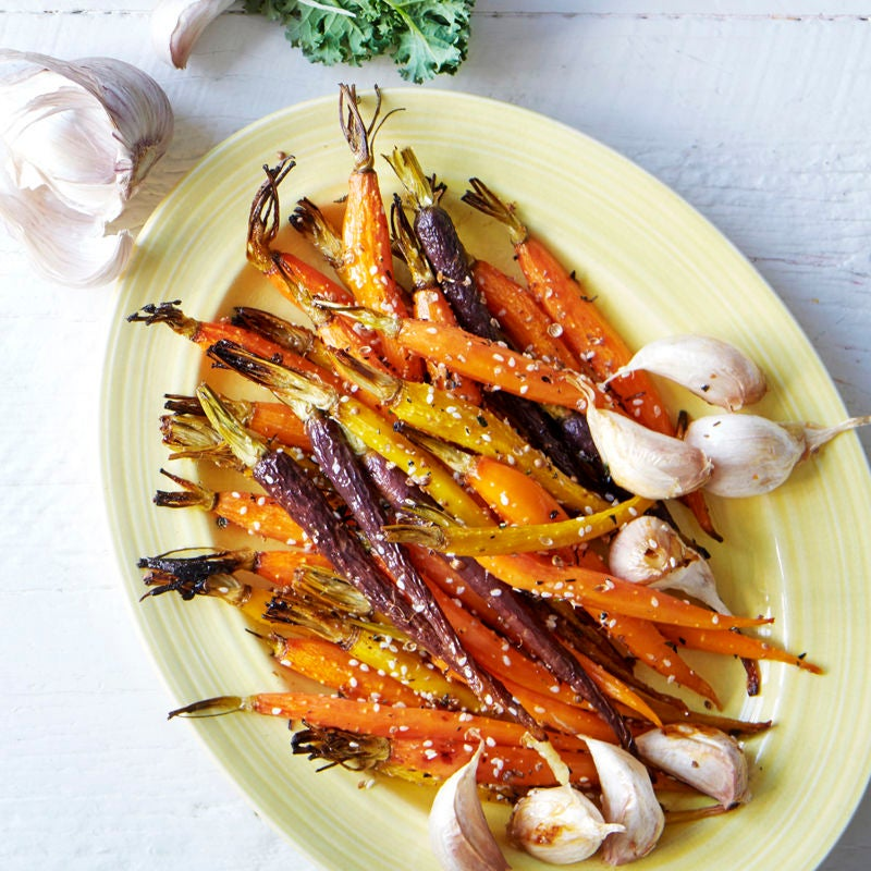 Photo of Spice roasted carrots with honey, garlic and thyme by WW