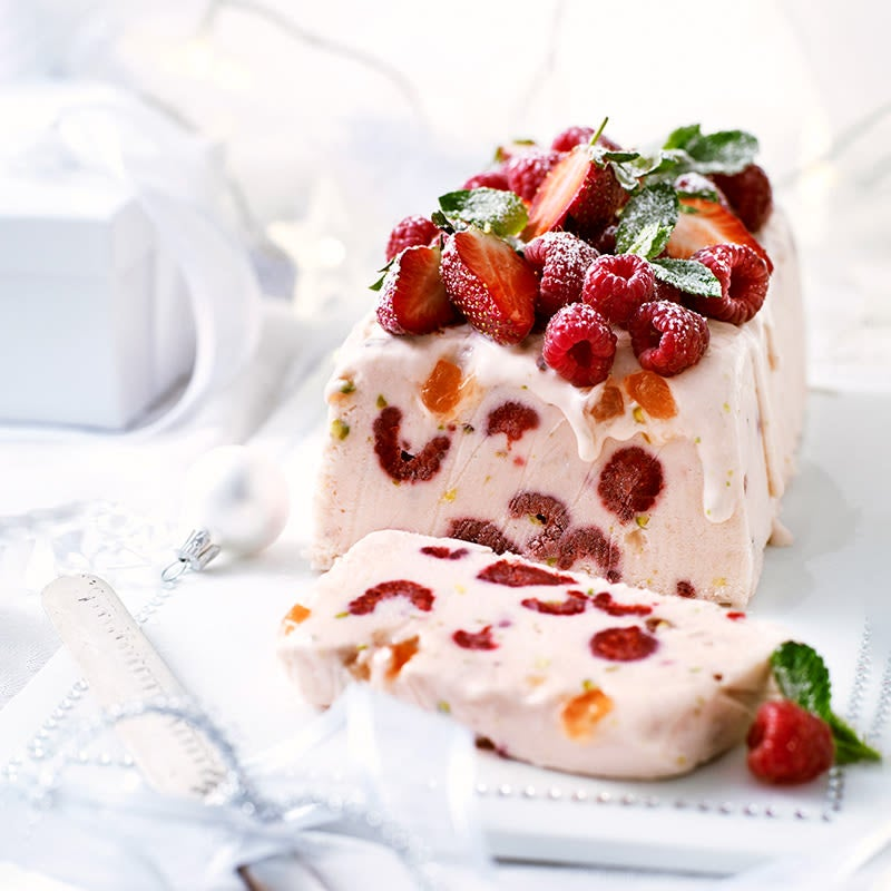 Photo of Berry delicious ice-cream cake with Turkish delight by WW