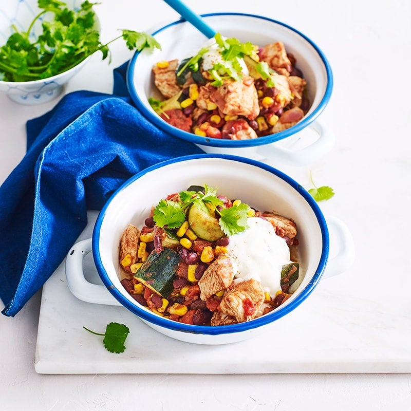 Photo of One pot chilli chicken and bean bowl by WW