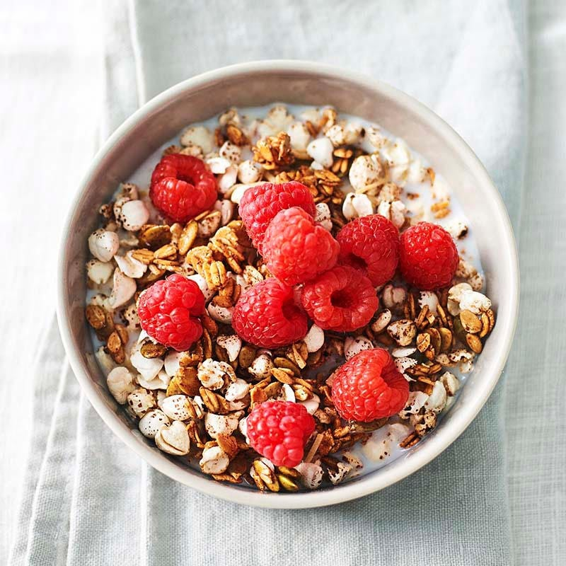 Photo of Buckwheat, spelt and pepita granola by WW