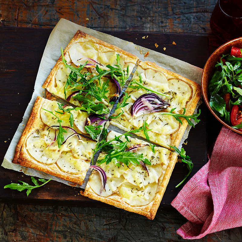 Photo of Potato, rosemary and cheese tart by WW