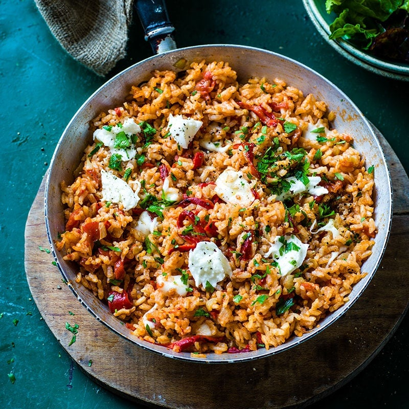 Photo of Oven-baked capsicum risotto by WW