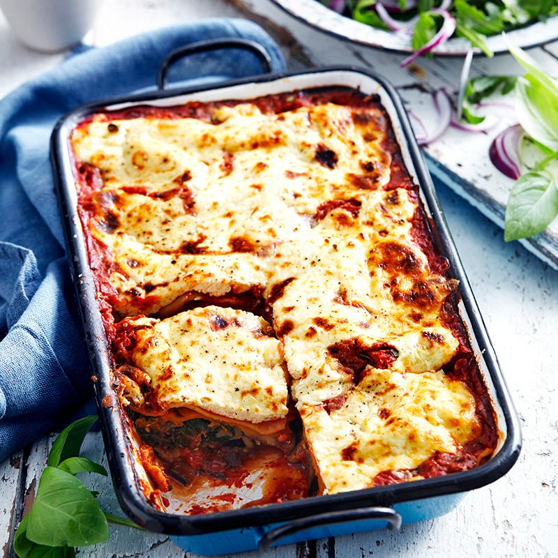 Photo of Mixed vegetable lasagne with ricotta topping by WW