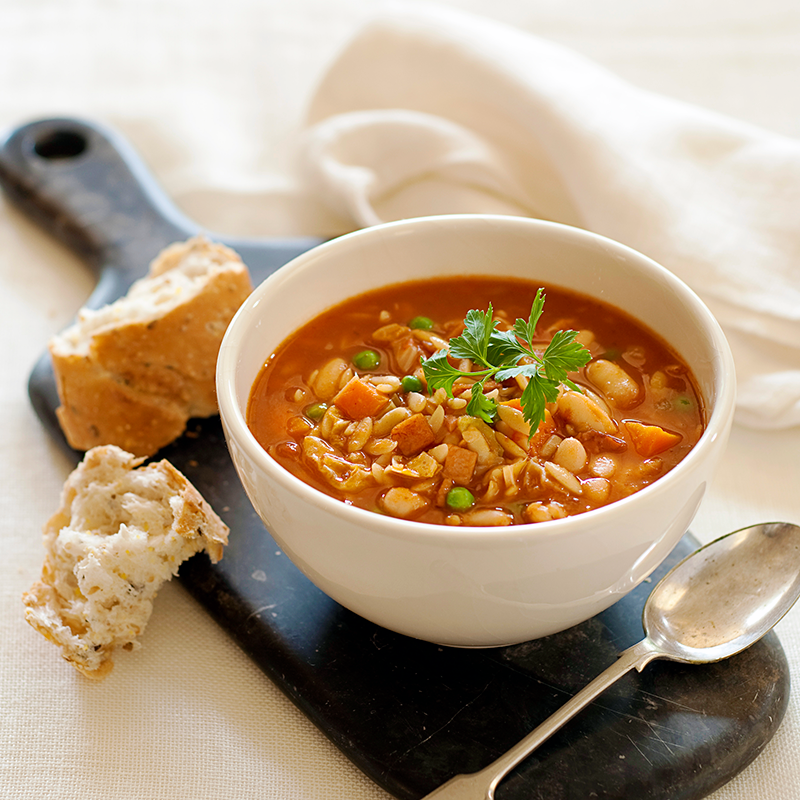 Photo of Home-style minestrone soup by WW