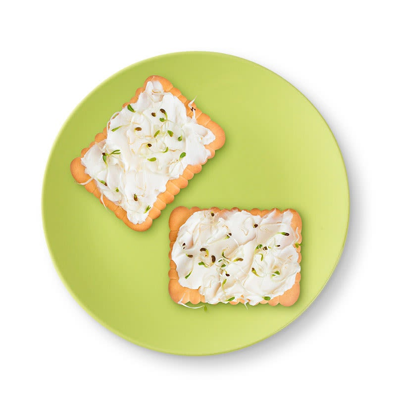 Photo of Cottage cheese and crispbread by WW