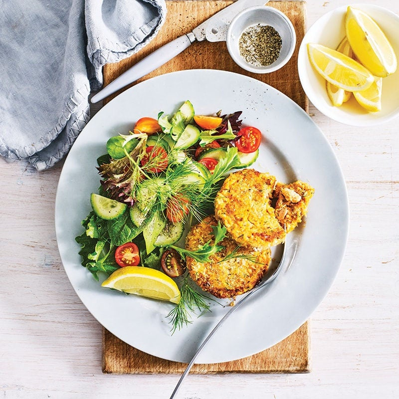 Photo of Family salmon fish cakes by WW