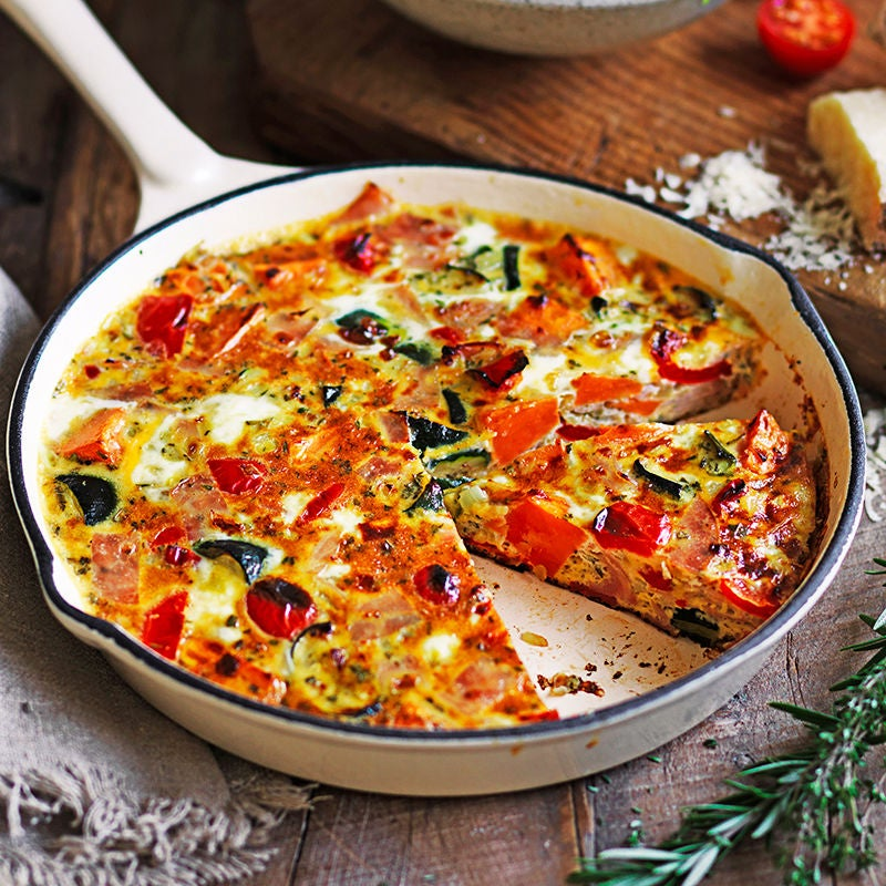Photo of Roast vegetable and ham frittata by WW