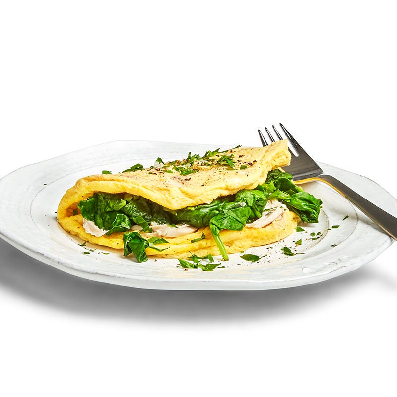 Photo of Chicken and spinach omelette by WW