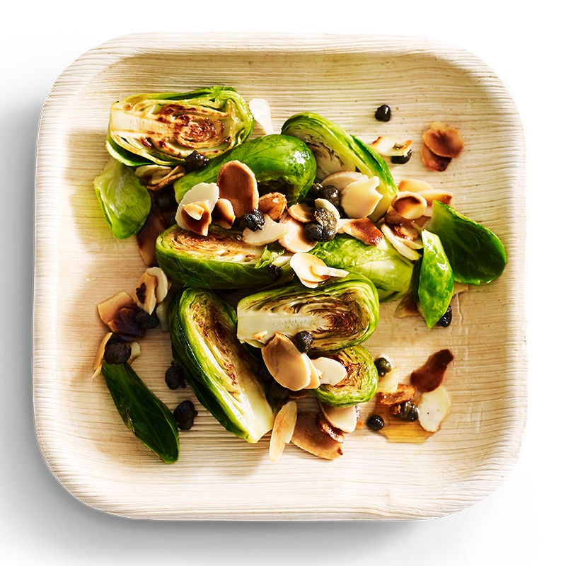Photo of Brussels sprouts with almonds, garlic and capers by WW