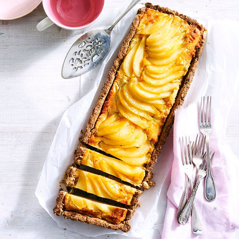 Photo of Gluten free frangipane pear tart by WW