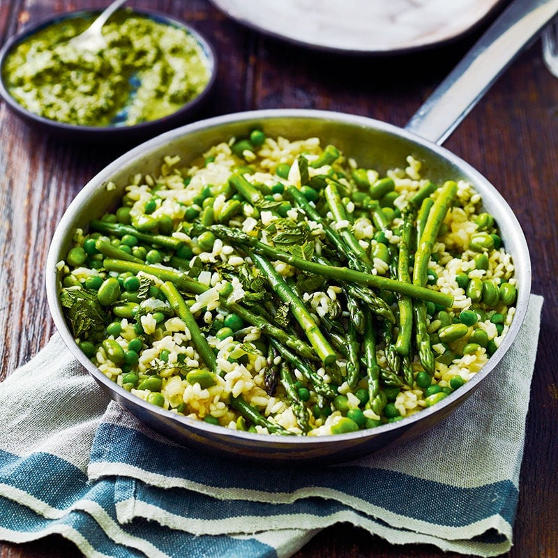 Photo of Green vegetable risotto by WW