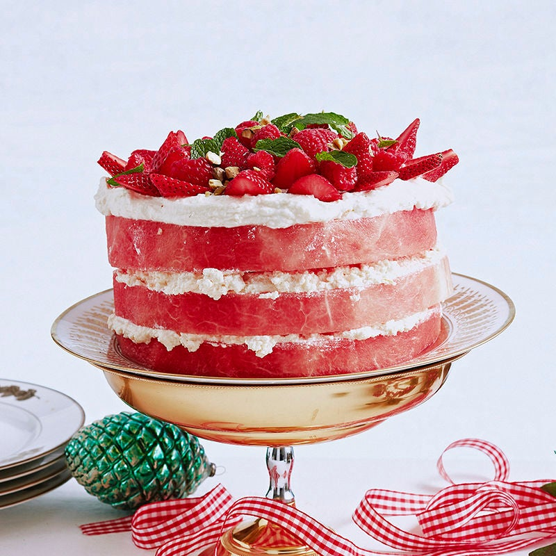 Watermelon cake Healthy Recipe Weight Watchers AU