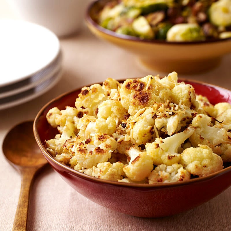 Photo of Roasted cauliflower with parmesan cheese by WW