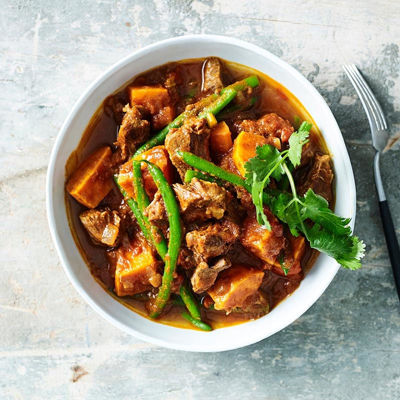 Photo of Beef and kumara vindaloo by WW