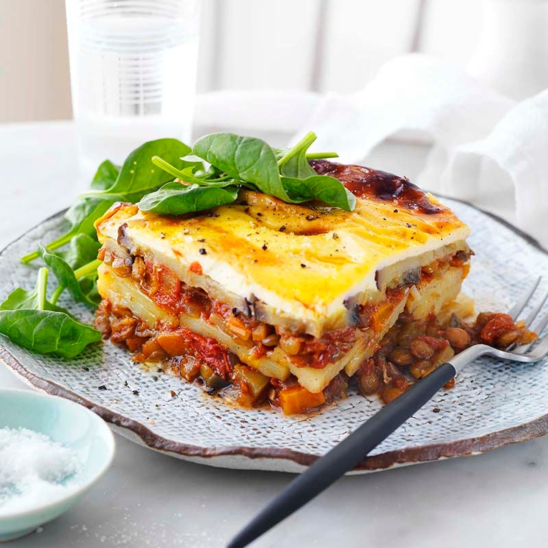 Photo of Lentil moussaka by WW