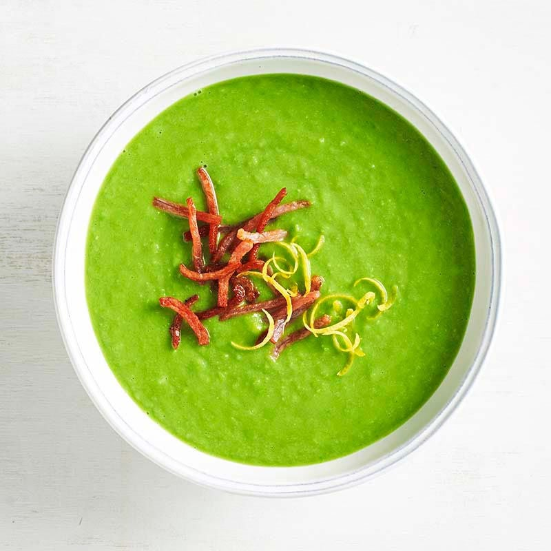 Photo of Broad bean and pea soup by WW