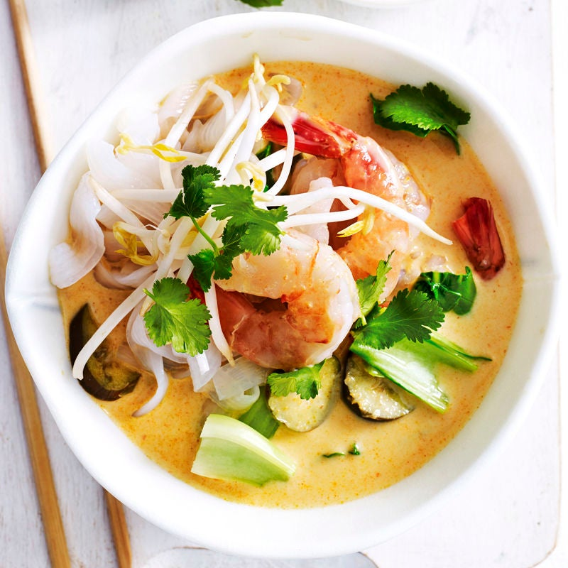 Photo of Prawn laksa with eggplant by WW